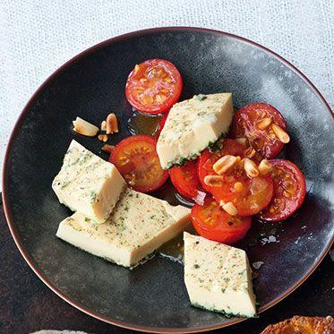 Kirschtomatensalat Rezept   Küchengötter