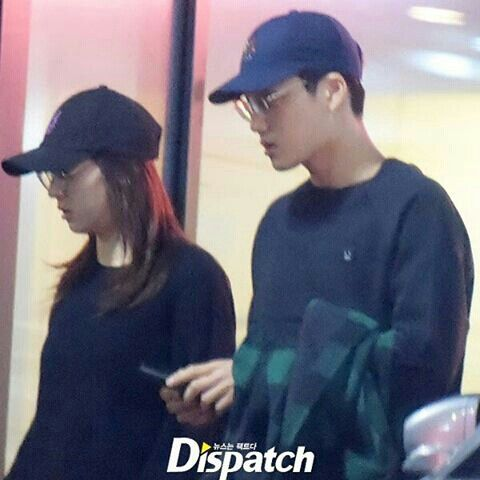 lable mates EXO'S Kai and F(x)'s Krystal are Dating,Confirmed by SM entertainment~❤