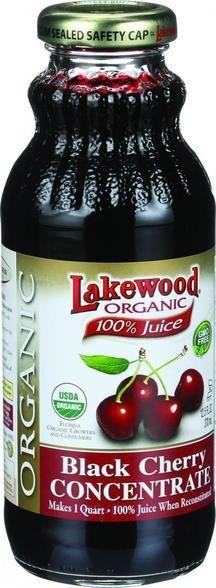 Lakewood Organic 100 Percent Fruit Juice Concentrate - Black Cherry - 12.5 Oz
