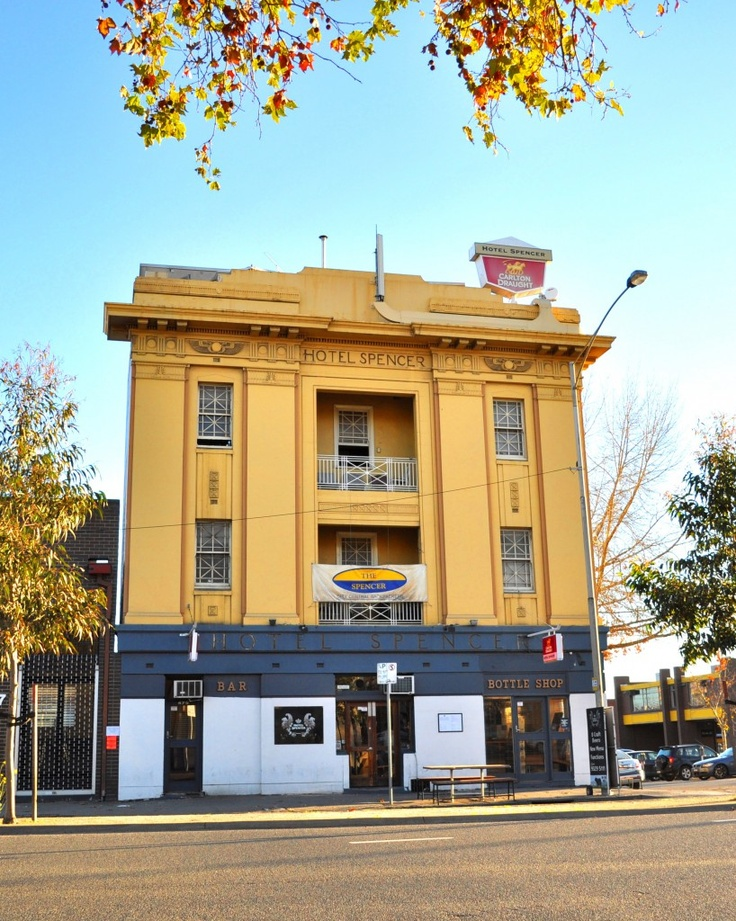 The Spencer Backpackers in central Melbourne