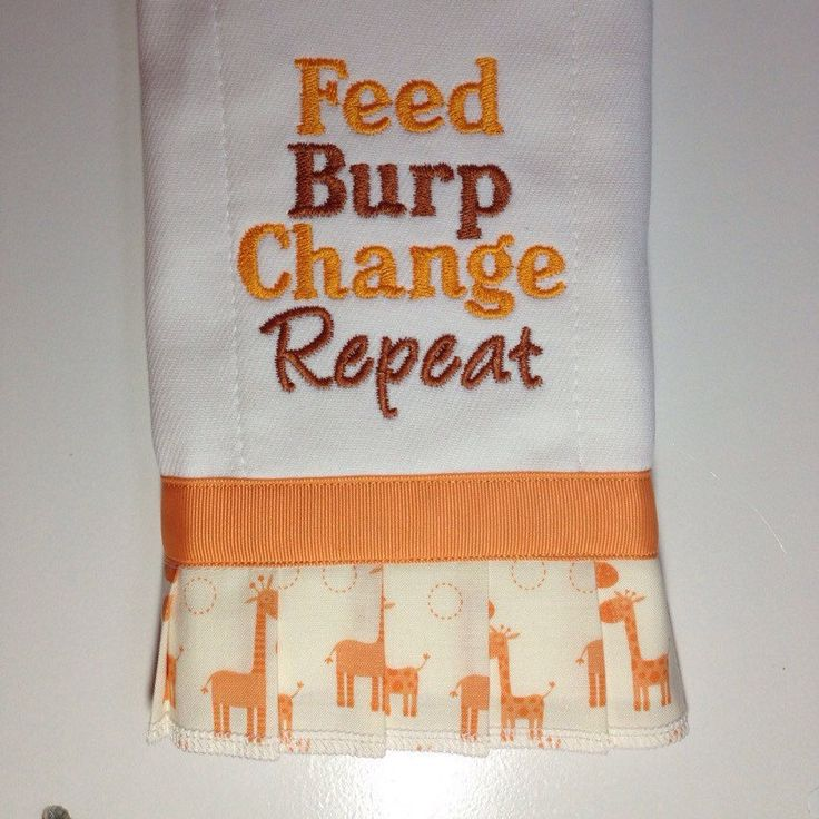 Organic Cotton GIRAFFE Applique Newborn Burp Cloth Hand Crafted Neutral Yellow by SugarSandwichDesign on Etsy