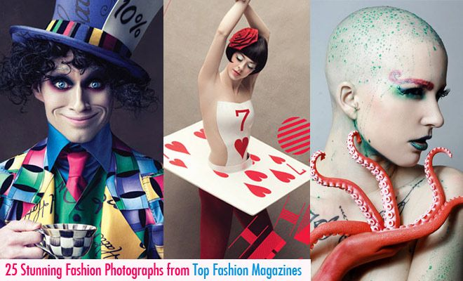 25 Stunning and Creative Fashion Photographs from Top Fashion Magazines. Follow us www.pinterest.com/webneel