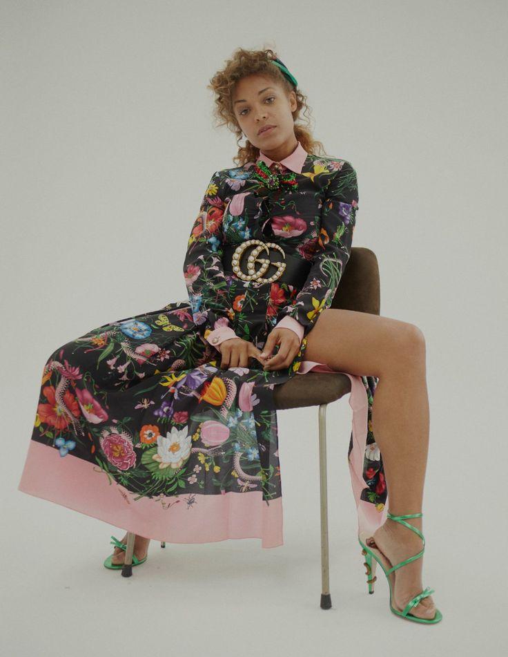 "celebsofcolor: ""Antonia Thomas for Wonderland Magazine """