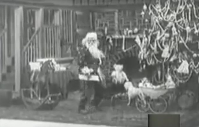 The newly discovered Night Before Christmas silent movie from 1905!