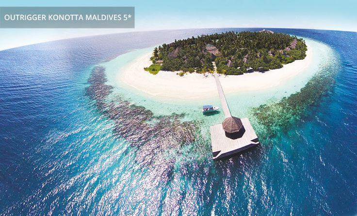 OUTRIGGER KONOTTA MALDIVES 5* | Brandneues Inselparadies der Malediven, das mit fantastischen Erlebnissen in Sachen Wohnen, Kulinarik, Wellness und Wassersport aufwartet
