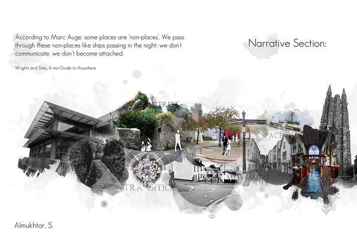 Narrative Section - Architecture Collage