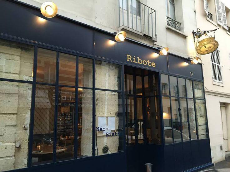 Fa ade noire vitr e style atelier grande salle lumineuse au d cor l ch en b - Cuisine type atelier ...