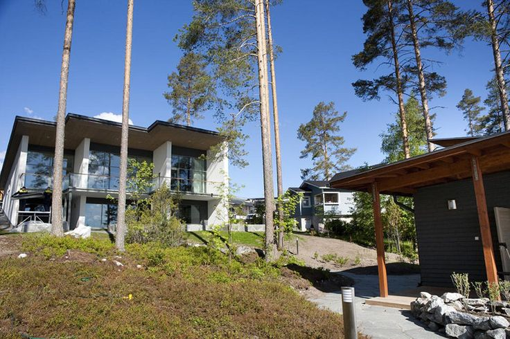 Upea kivitalo järven rannassa, Lammi-Kivitalo Villa Valo www.lammi-kivitalot.fi
