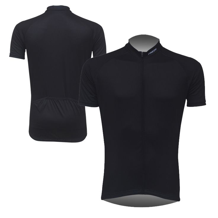 Mens solide noir cyclisme vêtements en Jersey vélo à manches courtes Tops Shirt uniformes brève conception Hot vente dans Maillots de cyclisme de Sports & Entertainment sur AliExpress.com | Alibaba Group