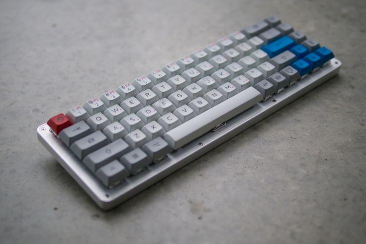 Vanilla WhiteFox + Granite #keyboard #mechanichal