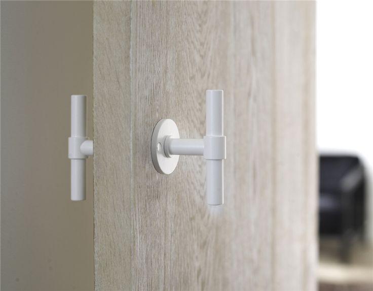 Dørhåndtak Formani PBT15XL/50 sort - Sikkerhet & Design White or black also for bathroom door