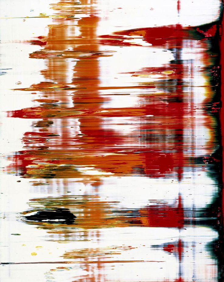 I love this painting...Gerhard Richter
