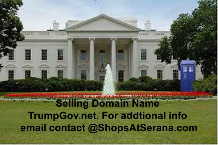 $4,999.00 TrumpGov.net Domain Name For Sale