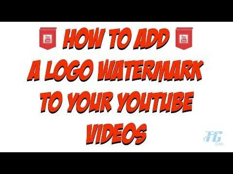 how to add image watermark in windows movie maker