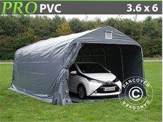 Carpa garaje PRO 3,6x6x2,68m PVC con cubierta de terreno