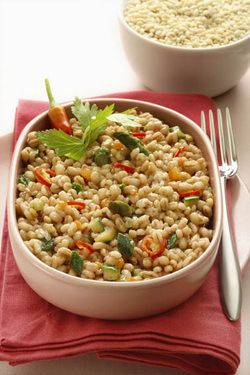 """""""Orzotto"""" with Vegetables – Barley """"Risotto"""" (Parve or Dairy)"""