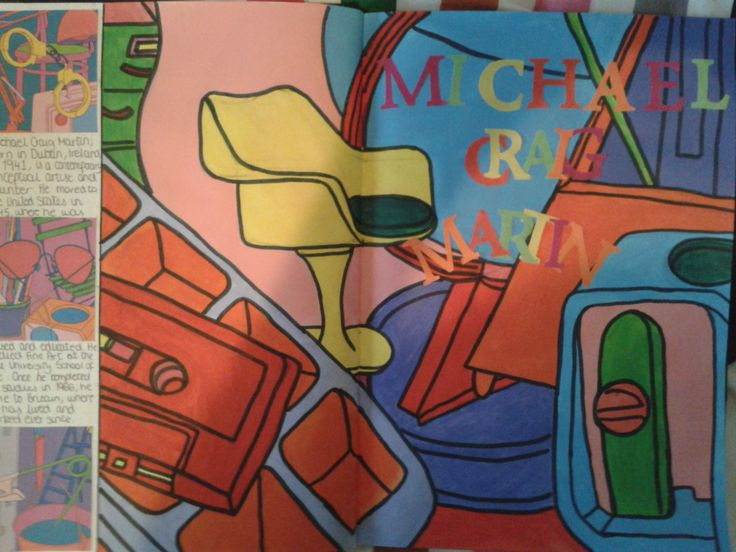 Michael Craig Martin Artist Page