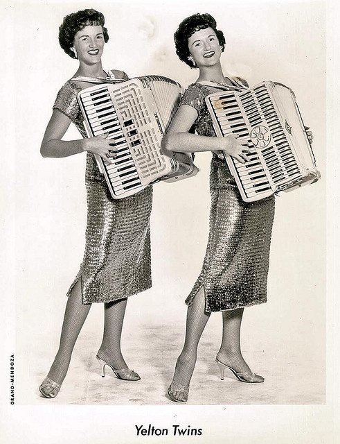 Tracie and I had a squeezebox and daddy never worked at night