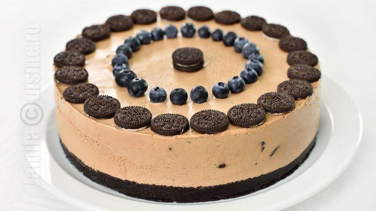 Cheesecake fara coacere cu Oreo si Nutella | JamilaCuisine