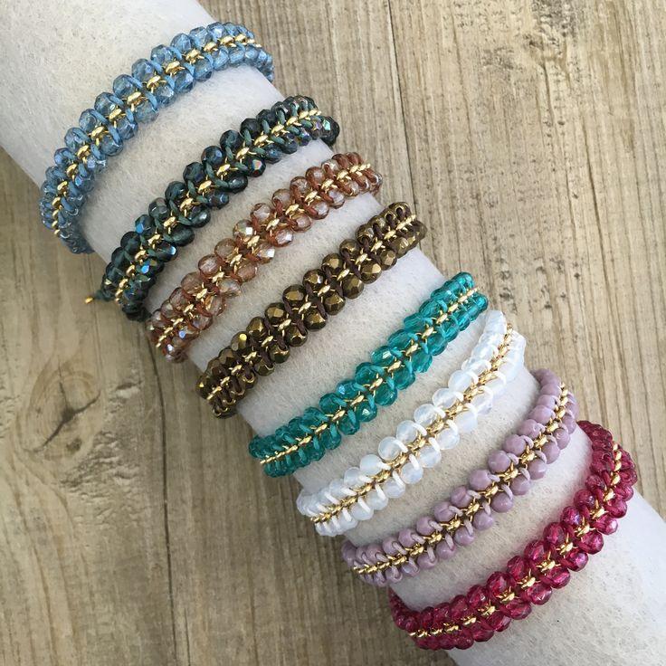 #duepuntihandmade #handmade #handmadewithlove #handmadejewelry #withlove #bracelets #colors #ilike #pearls #chain #charms #summer #diy #doityourself #gifts #friends #lightblue #white #purple #fuxia #brown