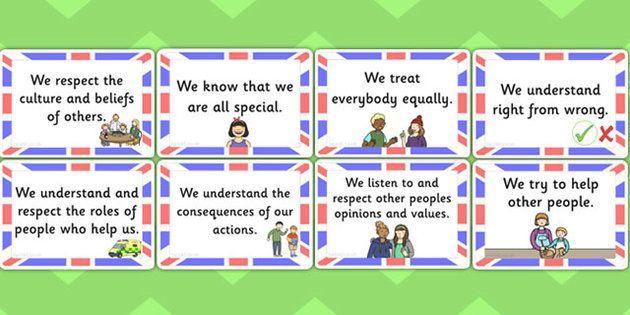British Values In Primary Schools Google Search