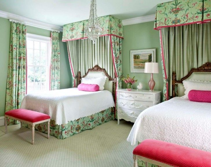 Elegant Chic Teenage Girl Bedroom Color Ideas