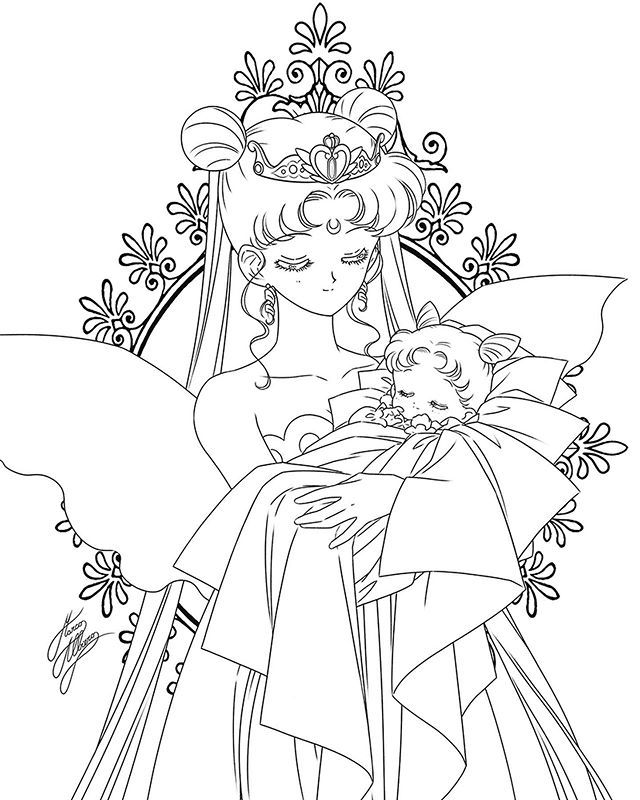 Www Marcoalbiero It Facebook Marco Albiero Art Instagram Marco Albiero Art Twitter Albierom Sailor Moon Coloring Pages Sailor Mini Moon Moon Coloring Pages
