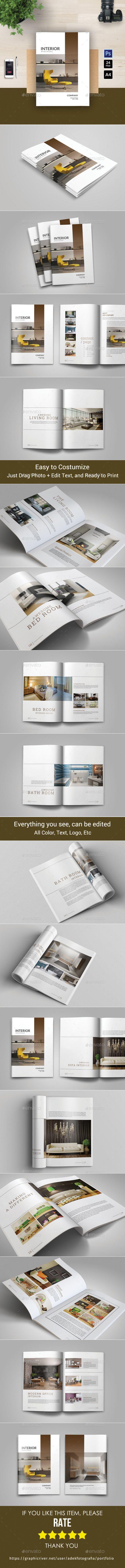 Portfolio Brochure Template PSD