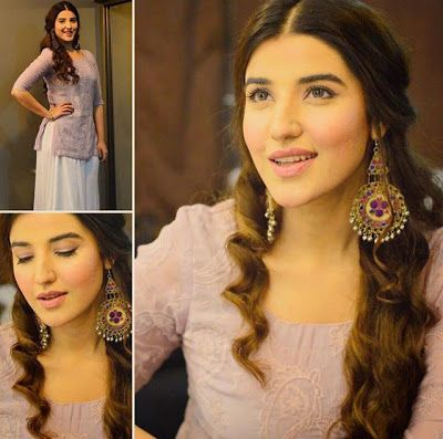 Must Hai Dekhna: Hareem Farooq's lovely look for her upcoming movie...