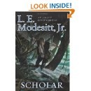 Excellent book by L.E. Modesitt, Jr. It's a prequel to the Imager series.