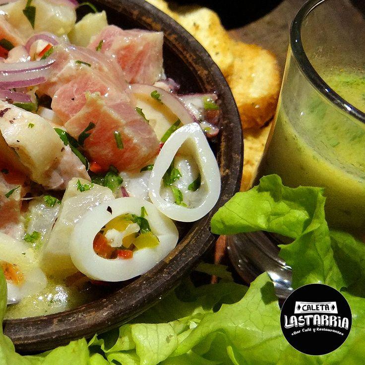 Caleta Lastarria Restaurant/Cantina/Cevicheria Cristian Correa Murillo mailto:caletalast... www.caletalastarr... (2) 2632 5764 Instagram: @ caletalastarria @caletalastarria2  Twitter: @CaletaLastarria
