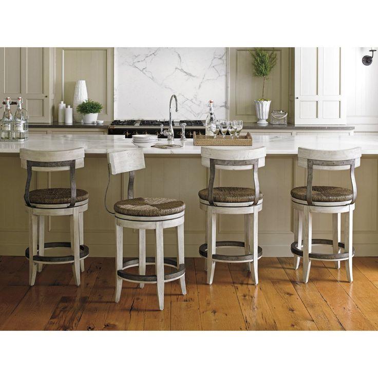 Lexington Furniture 01-0714-815-01 Merrick Swivel Counter Stool
