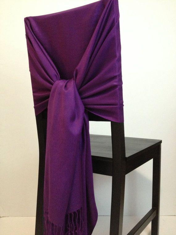 Eggplant pashmina  pashmina scarf pashmina shawls by WeddingShawls, $11.00