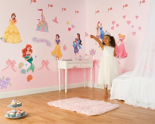 Disney Princess Wall Decals | Princess Room Wall Decals | Interior Design  Ideas