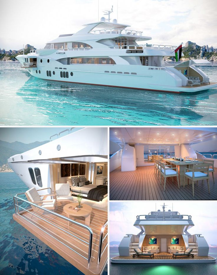 Perfect dimensions for a practically perfect yacht.
