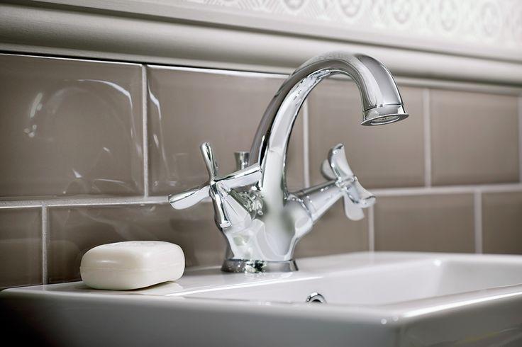 Salino basin mono bloc mixer bathroom tap #bathroomfurniture #bathroomtaps #myutopia
