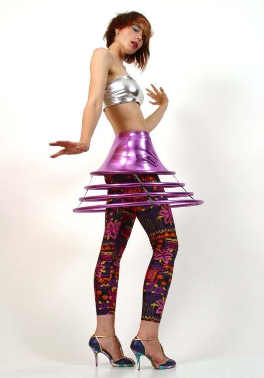 spacey hoop skirt