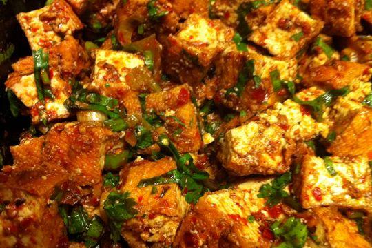 Spicy Tofu stir fry Ingredients: 10 oz. Phoenix Bean fried extra firm ...