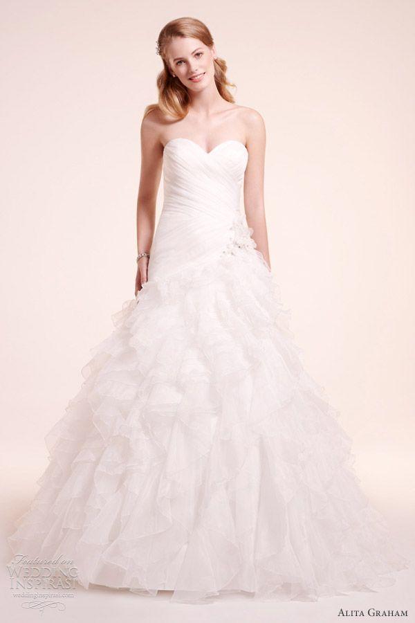 Alita Graham Fall 2012 Wedding Dresses | Wedding Inspirasi