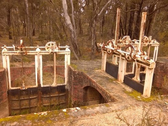 Crusoe and No7 Dams Water Works