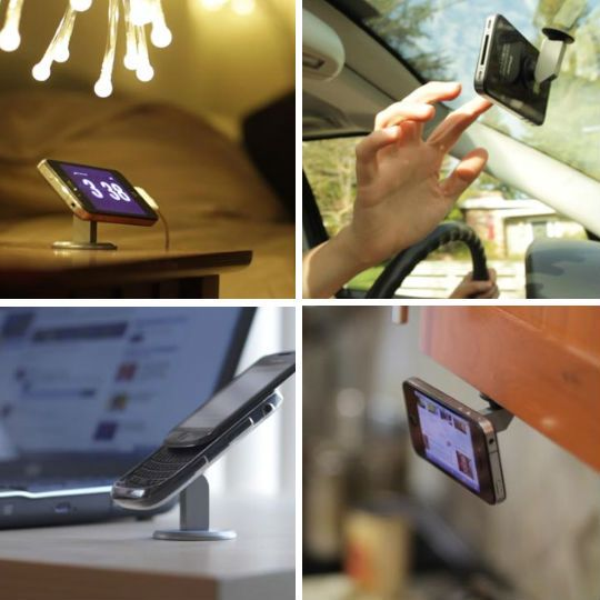 "The ""oona"" smart phone mount - really clever!"