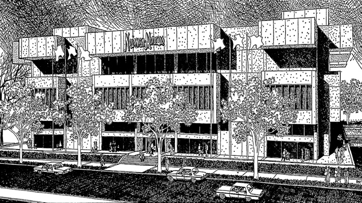 Neiman Marcus - Houston (#004), The Galleria, Houston, TX (1969, SF: 224,000).