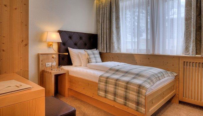 Enkelrum p hotel garni palin sts alpresor v ra hotell for Hotel mignon meuble
