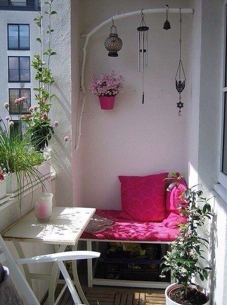 Подборка прекрасных идей для небольших балконов - Дизайн интерьеров | Идеи вашего дома | Lodgers
