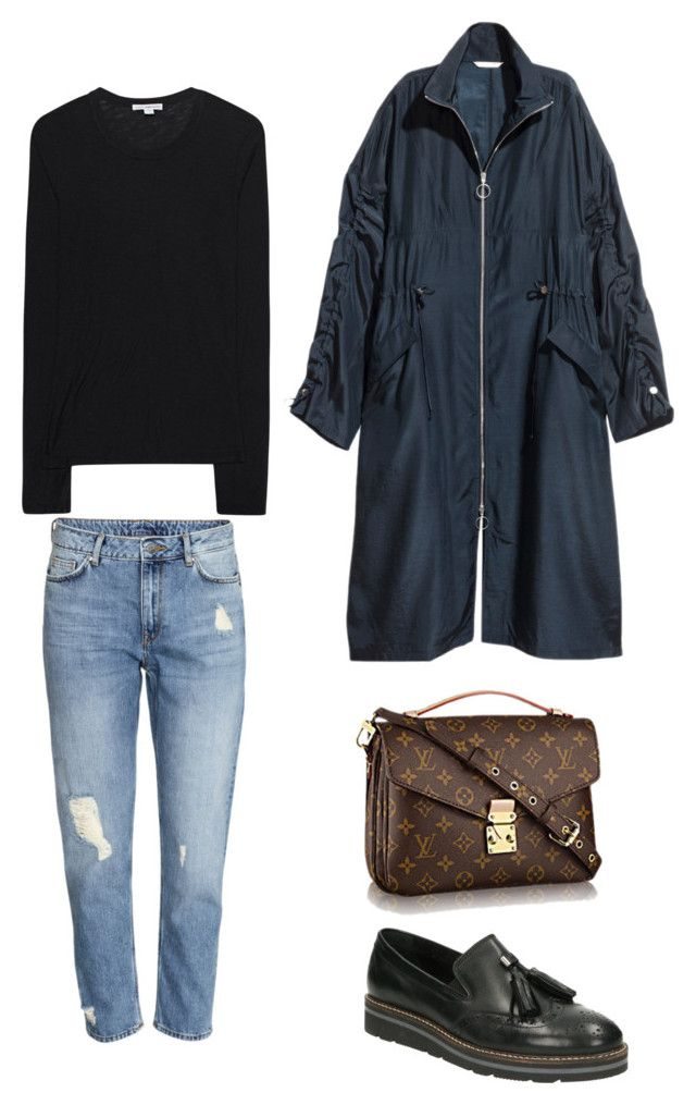 """""""Untitled #262"""" by stinasolheim on Polyvore featuring SoftWalk and James Perse"""
