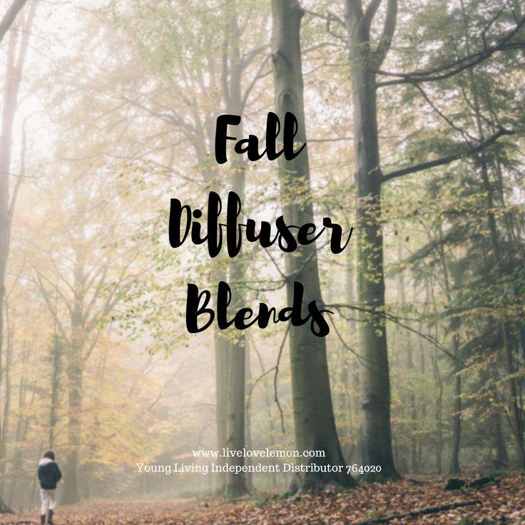 3 Fall Essential Oil Diffuser Blends