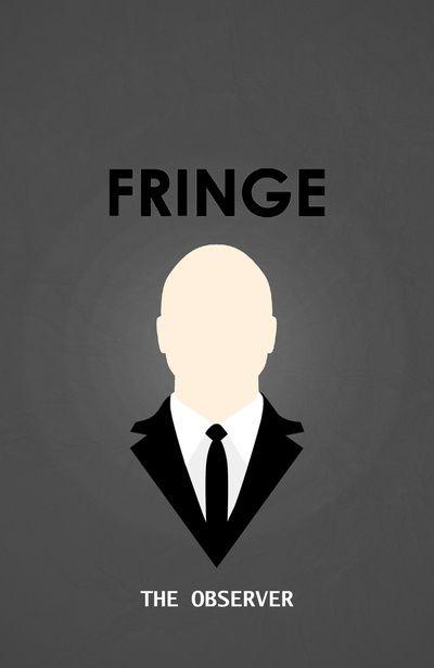 "Fringe Minimalist Poster 02, ""The Observer"" by miserym"