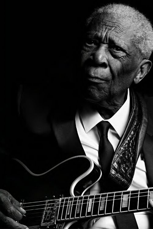 Mr. BB King---saw him in concert 2x, love the blues, love the way he plays Lucille so beautifully!