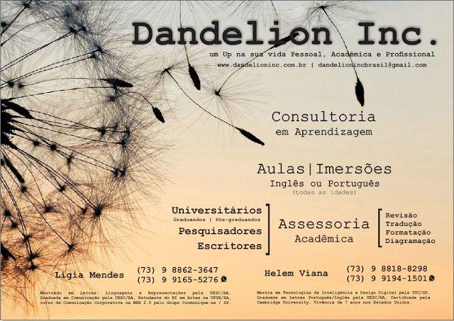 Dandelion Inc.: Entre em contato