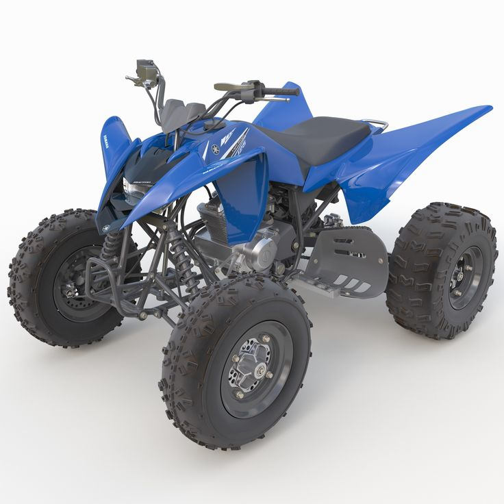 3D Sport Atv Yamaha Raptor Model - 3D Model